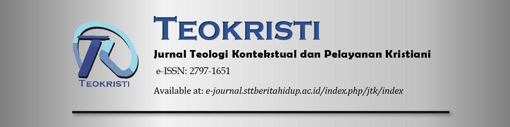 Teokristi: Jurnal Teologi Kontekstual dan Pelayanan Kristiani
